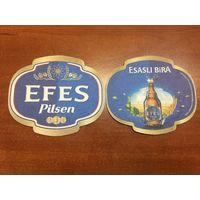 Подставка под пиво Efes Pilsen No 4 /Турция/