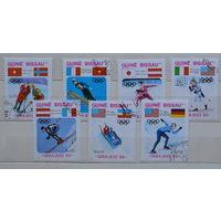 Гвинея Бисау 14  зимние Олимпииские игры в Сараево