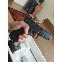 Пистолет глок 17 с увеличенным магазином страйкбол