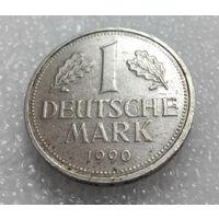 1 марка 1990 A ФРГ #01