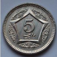 Пакистан, 5 рупий 2004 г.