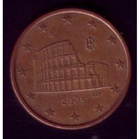 5 центов 2005 год Италия