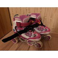 Роликовые коньки детские раздвижные Explore Activa, размер 27-30