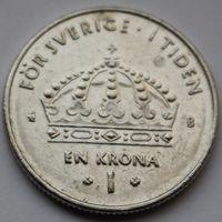 Швеция, 1 крона 2002 г