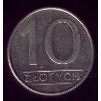 10 Злотых 1988 год Польша