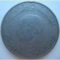 Тунис 1 динар 1976 г. (d)