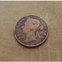 Стрейтс-Сеттлментс, 1 цент 1898 г., Виктория (1837-1901)