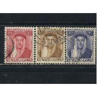 GB Мандат Кувейт 1958 Абдалла ибн-Салем Аль-Сабах Стандарт #130-132