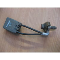 102080 Citroen C5 01-04 задняя правая пряжка 963255877702