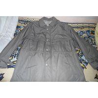 Мужская теплая куртка (Германия). Большой размер! Где-то р. 58. Как новая!