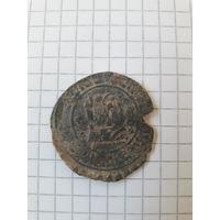 Еврейский медальон-жетон, волчки.