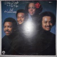 GLADYS KNIGHT & THE PIPS - 1975 - SECOND ANNIVERSARY, (UK), LP