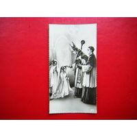 Миниатюрная открытка. 1944г.