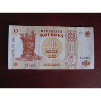 10 леи 2006, Молдова