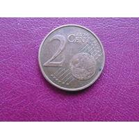 Нидерланды 2 евроцента 2002г.