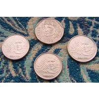 Бразилия 5, 10, 25, 50 центаво. Бразилия времен Тропиканки. Инвестируй в монеты планеты!