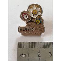 Значек UEFA EURO 2012