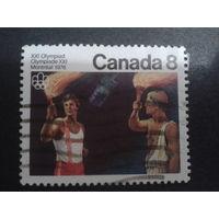 Канада 1976 олимпийский факел