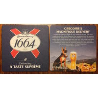 Подставка под пиво Kronenbourg 1664, No 11 /Великобритания/