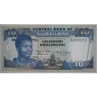 Свазиленд 10 эмалангени 2001 г. (g)