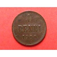 1 пенни 1900 медь