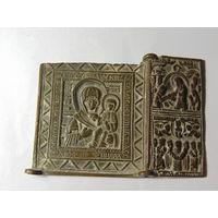 Икона старинная,часть складня 19 век.
