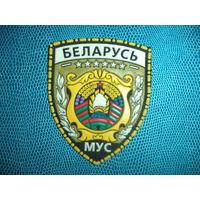 Нарукавный знак ГЕНЕРАЛИТЕТ МВД (переходной 90-е, ЖИЛЬБЕЛ))