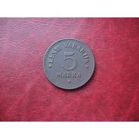 5 марок 1924 год Эстония