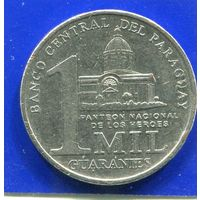 Парагвай 1000 гуарани 2007