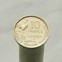 Франция 10 франков 1953