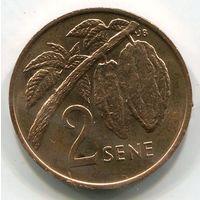 (B5) САМОА - 2 СЕНЕ 1974 UNC