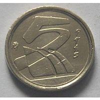 Испания 5 песет 1998
