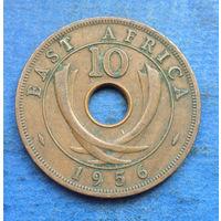 Восточная Африка Британская колония 10 центов 1956