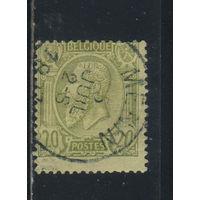 Бельгия Кор 1884 Леопольд II Стандарт #43
