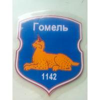 """Бейтж нашейный """"Гомель.1142.ЗИП.55 лет""""  15*12 см"""