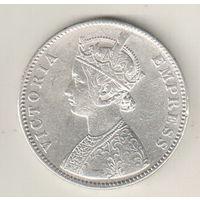 Британская Индия 1 рупия 1882