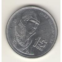 1 песо 1985 г