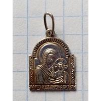 Казанская икона Божьей Матери 925 проба