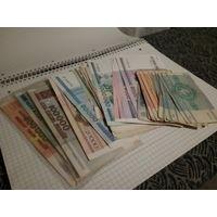 Сборный лот: банкноты РБ, редкие номера