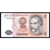 Перу / PERU_26.06.1987_100 Intis_P#133_UNC