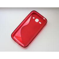 Силиконовый бампер чехол для Samsung Galaxy Ace 3