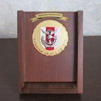 """Памятная настольная медаль,Турецких вооруженных сил """"Дружба через спорт"""""""