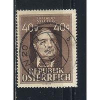 Австрия Респ 1948 Адальберт Штифтер 80-летие смерти #856