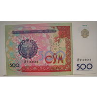 Узбекистан 500 сум 1999 г. (a)