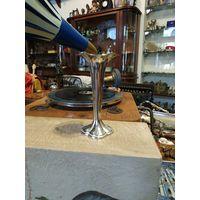 Лот с рубля - 163 Вазочка для тюльпанов АРТ ДЕКО Серебрение без Минималки Большой Аукцион!