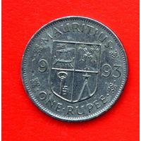 35-02 Маврикий, 1 рупия 1993 г.