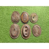 Царские кокарды (6 штук)(РИА)(ПМВ)(Предлагайте цену)
