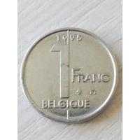 Бельгия 1 франк 1995г.