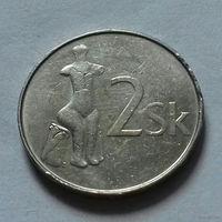 2 кроны, Словакия 2001 г.