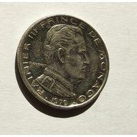 Монако 1 франк, 1979 5-5-28